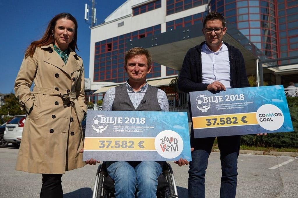 Zvezdniki Zbrali Več Kot 75.000 Evrov